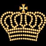 crown in lights