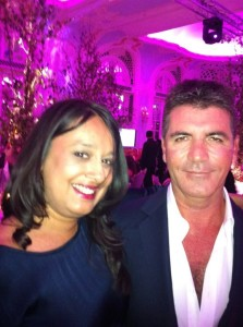 simon cowell and me