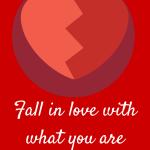 Fall in love with what you are selling