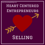 You can save this image and use it to affirm YOU love selling!