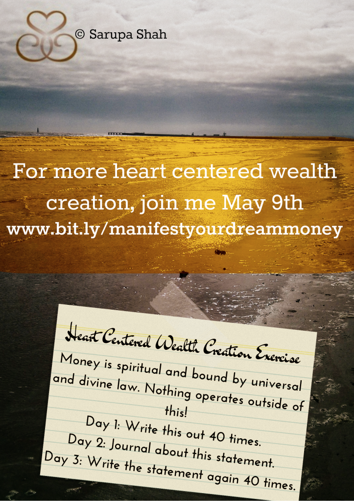 Heart Centered Wealth Creation Exercise