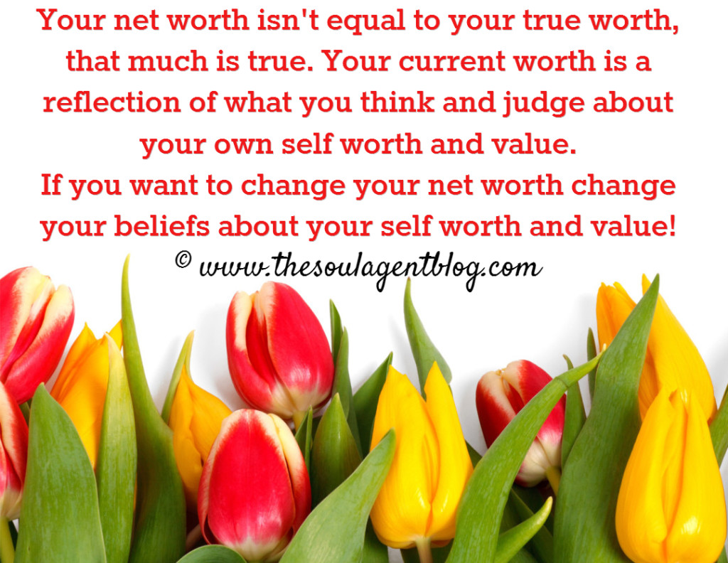The heart centered truth about your net worth