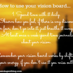 How to use your vision board - Sarupa Shah