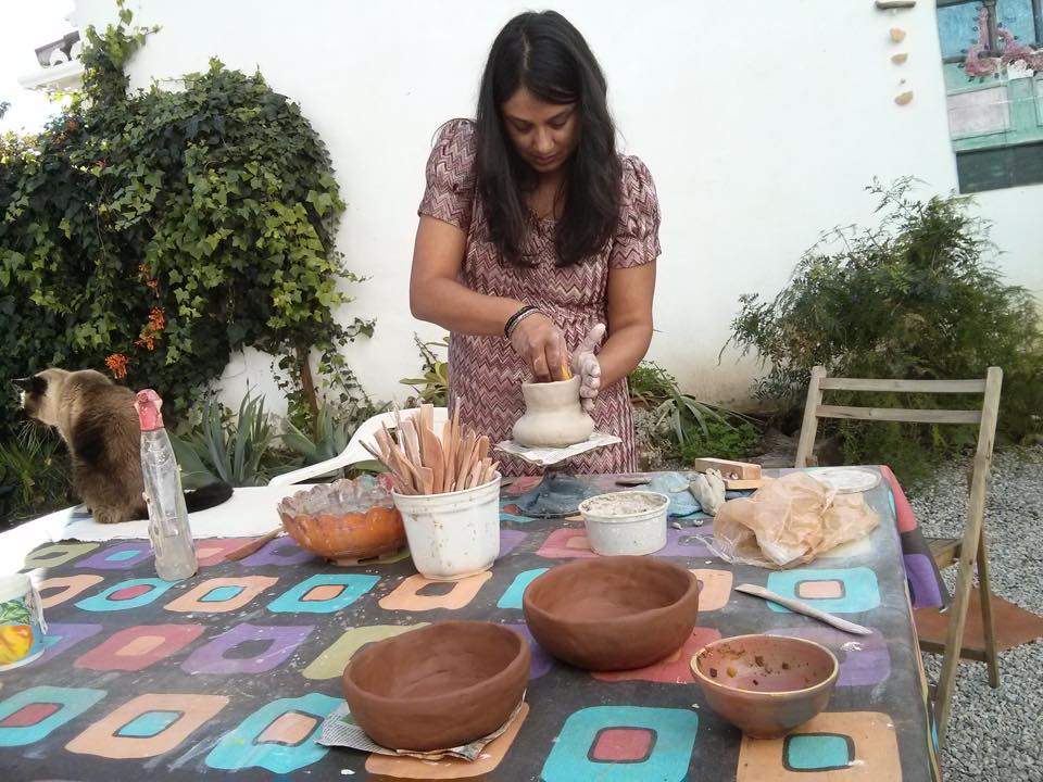 Your pottery workshop!