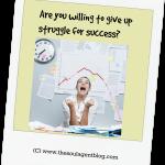 success for struggle
