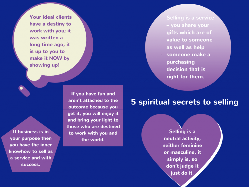 5 secrets to heart centered selling