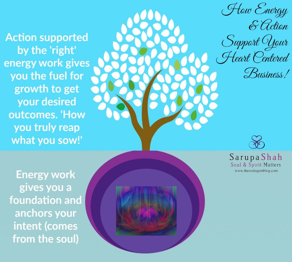energy and action heart centered